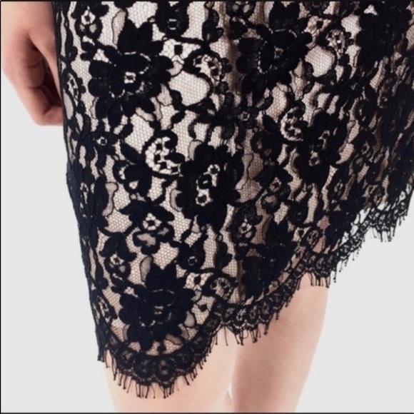 Banana Republic Dresses & Skirts - 50% OFF! Banana Republic Black Lace Overlay Skirt